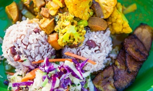 The Jerk House: Jamaican Cuisine at The Jerk House (35% Off). Two Options Available.
