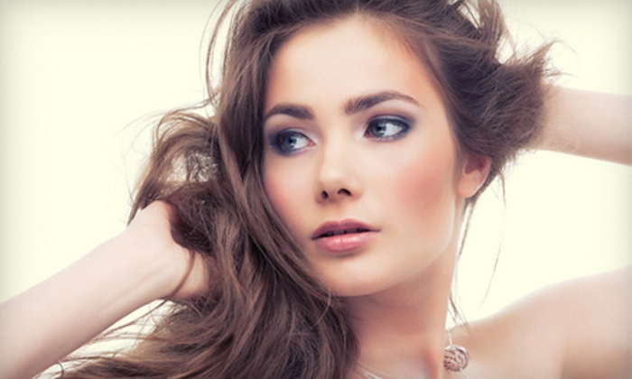 Old World Hair Salon - Southlake: Permanent-Makeup Services at Old World Hair Salon (Up to 67% Off). Four Options Available.
