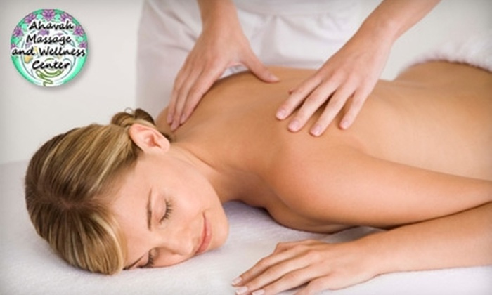 Ahavah Massage & Wellness Center - Sunnyslope: $40 for a One-Hour Relaxation Massage at Ahavah Massage & Wellness Center