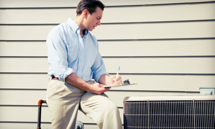 Service Plus Heating and Air Conditioning - Indianapolis: $39 for Air-Conditioning Inspection from Service Plus Heating and Air Conditioning ($95 Value)