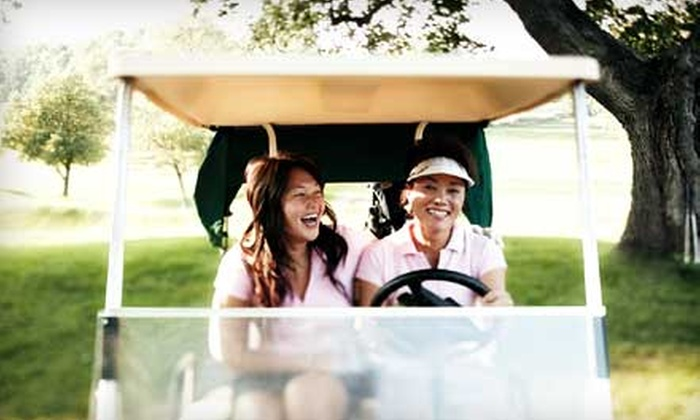 Eagle Valley Golf Course - Evansville: Two Large Buckets of Driving-Range Balls or Golf Outing for Two at Eagle Valley Golf Course