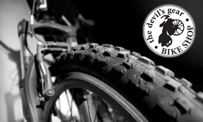Devil's Gear Bike Shop - Downtown: $30 for a Bike Tune Up at Devil's Gear Bike Shop in New Haven ($60 value)