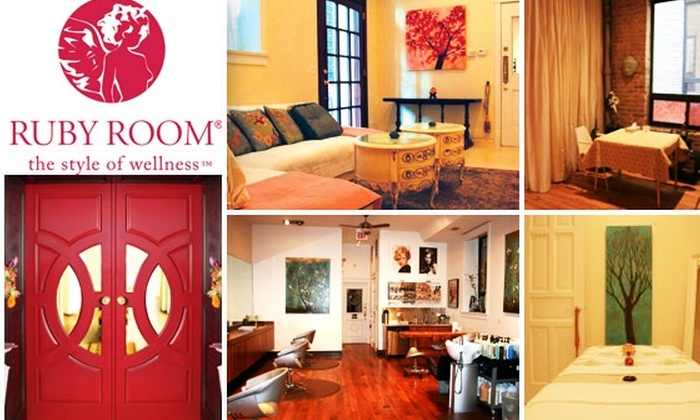 Ruby Room - Wicker Park: $50 for $125 Worth of Spa, Salon, and Healing Services at The Ruby Room