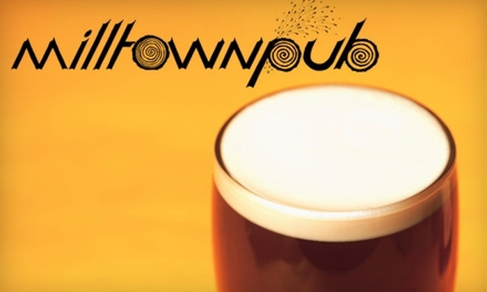 Milltown Pub - Silverton: $6 for $12 Worth of American Fare and Drinks at Milltown Pub