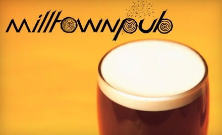 $12 Groupon to Milltown Pub - Milltown Pub in Silverton