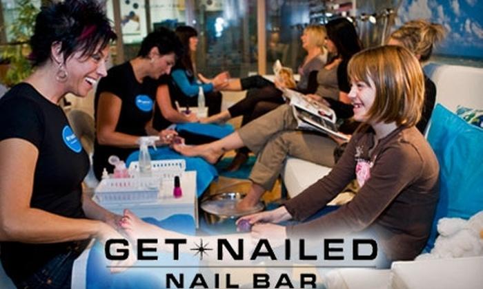 Get Nailed Nail Bar - Highlands: $25 for a Deluxe Mani-Pedi at Get Nailed Nail Bar ($67.20 Value)