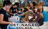 63% Off Deluxe Mani-Pedi at Get Nailed Nail Bar