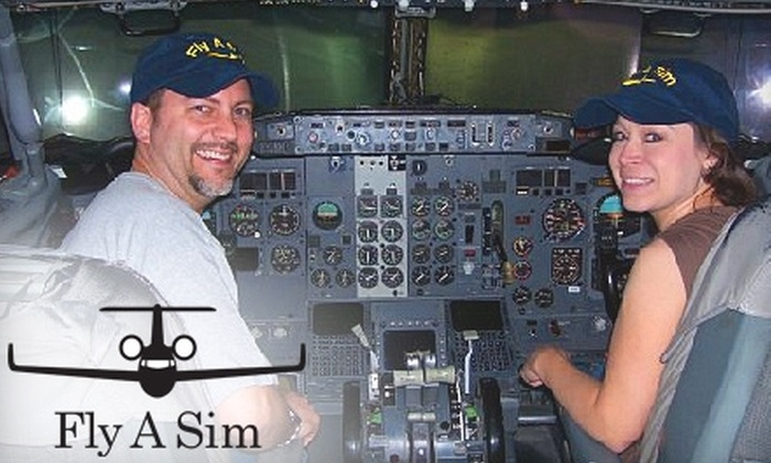 Fly-A-Sim - Irving: $199 for a 90-Minute Flight Simulator Experience from Fly-A-Sim ($399 Value)