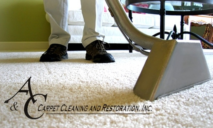 A & C Carpet Cleaning - Jacksonville: $59 for a Three-Room Carpet Cleaning from A&C Carpet Cleaning (Up to $187 Value)