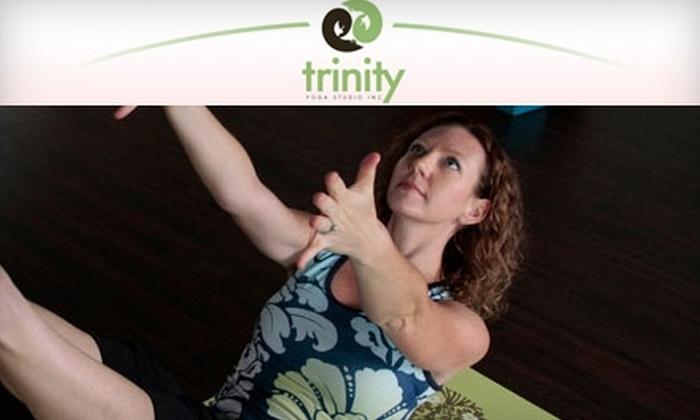 Trinity Yoga Studio - New Port Richey: $25 for 10 Classes at Trinity Yoga Studio in New Port Richey ($90 Value)