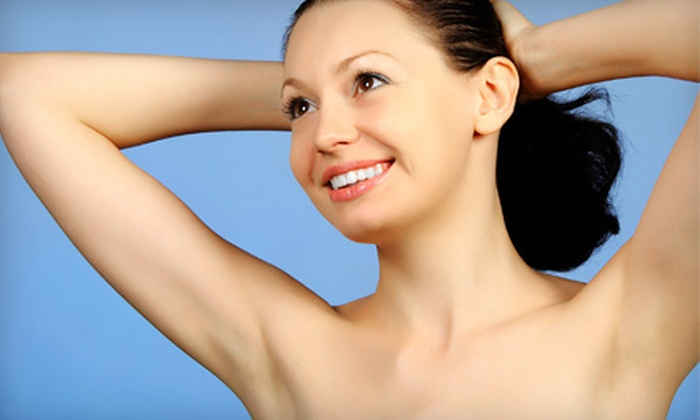 Pearl MediSpa - Beech Grove: Four Laser Hair-Removal Sessions for Small or Large Area at Pearl MediSpa (Up to 81% Off)