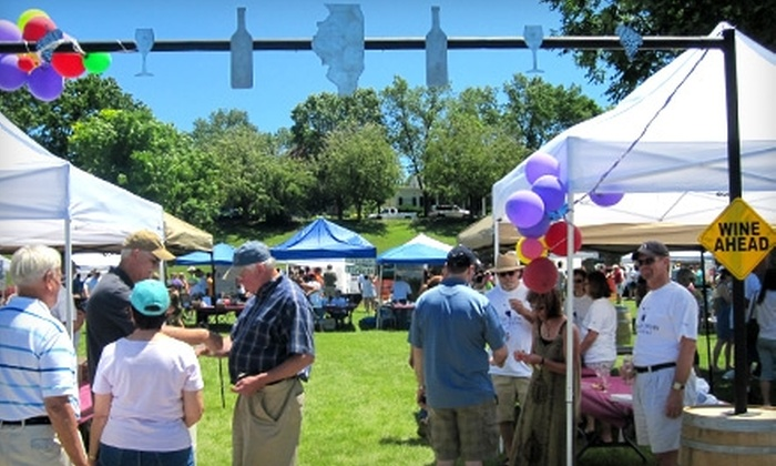 Top of Illinois Wine Festival - Galena: $8 for Two Admissions to the Top of Illinois Wine Festival in Galena ($16 Value)