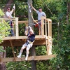 Up to 64% Off Zip-Line Tour at DFW Adventure Park