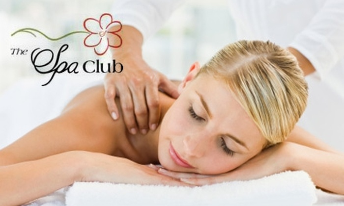 The Spa Club - Multiple Locations: $49 for 80-Minute Swedish Massage and One-Year Membership at The Spa Club ($109 Value)