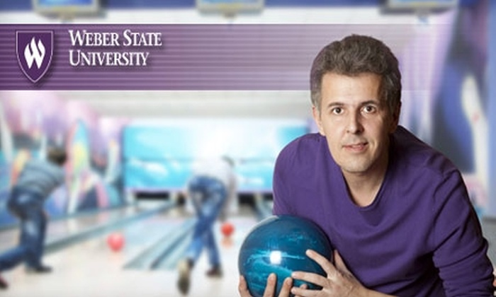 Wildcat Lanes and Game Center - Ogden: $15 for Two Games, Shoe Rental, and Small Drinks for Four People at Wildcat Lanes and Game Center at Weber State University (Up to $42.97 Value)