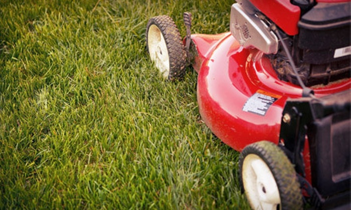 Frank's Lawn Care - Park: Four, Six, or Eight Weeks of Lawn-Mowing Services from Frank's Lawn Care (Up to 63% Off)