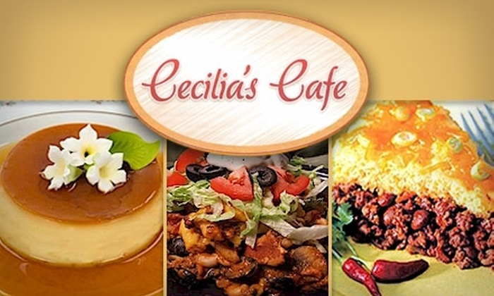 Cecilia's Cafe - Raynolds Addition: $7 for $15 Worth of New Mexican Fare at Cecilia's Café
