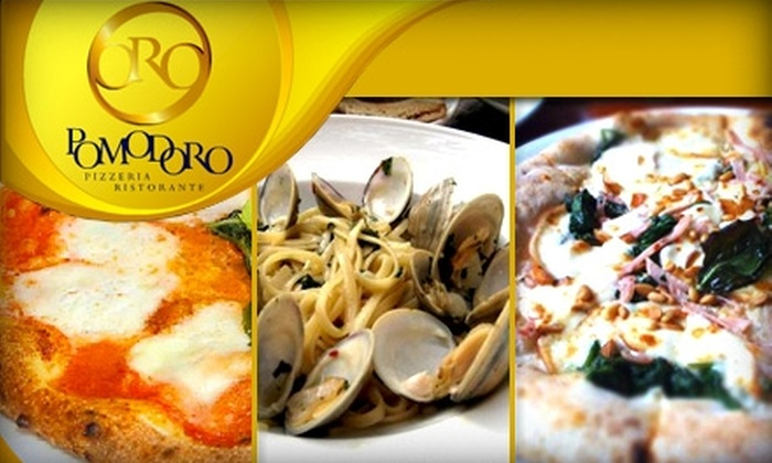 Oro Pomodoro - Rockville: $15 for $30 Worth of Neapolitan Pizza, Italian Cuisine, and More at Oro Pomodoro