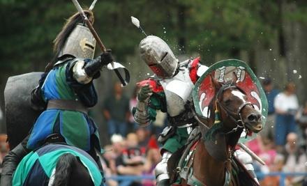 King Richard's Faire from Sat., Sept. 10 through Sun., Sept. 11 and Sat., Sept. 17 through Sun., Sept. 18: General Admission for 2 - King Richard's Faire in Carver