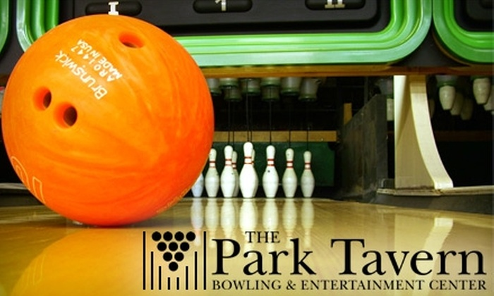The Park Tavern - St. Louis Park: $30 for One Hour of Bowling with Shoe Rental and a Large Pizza at The Park Tavern Bowling & Entertainment Center ($75 Value)