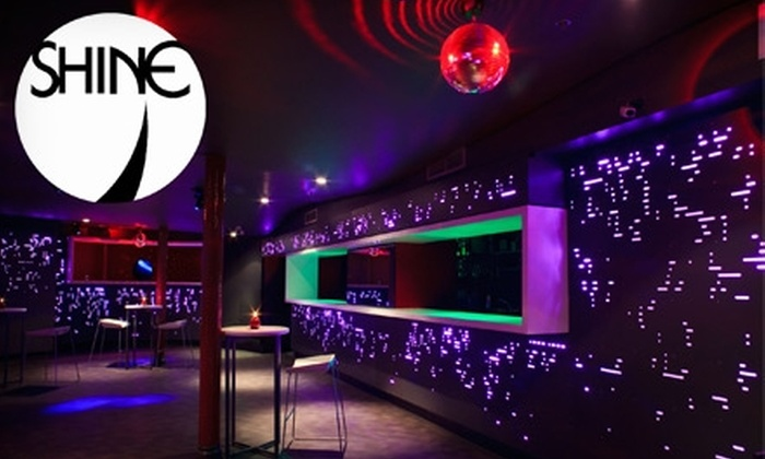Shine Nightclub - Downtown Vancouver: $25 for Four Paid Covers, a Special Entry Line, and Four Highball Drinks at Shine Nightclub (up to a $76 Value)
