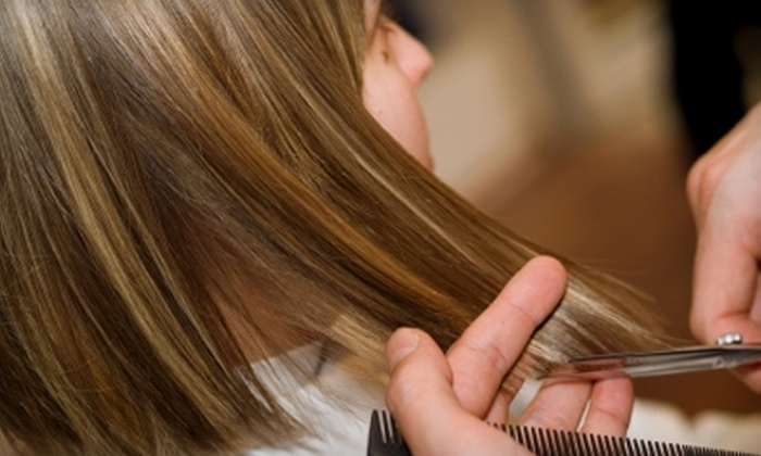 Arti Beauty Spa - Kettering: $22 for a Full Set of Acrylic Nails ($45 Value) or $50 for a One-Color Highlight and Cut (Up to $106 Value) at Arti Beauty Spa