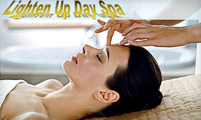 Lighten Up Day Spa - Amarillo: $12 for Two Facial Waxing Treatments at Lighten Up Day Spa (Up to $24 Value)