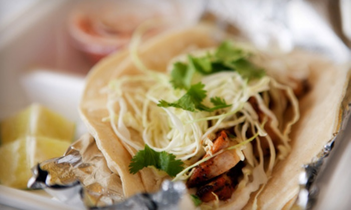 Serious Fish Tacos - Broadmoor/Sherwood: Fish-Taco Meal for Two or Four at Serious Fish Tacos