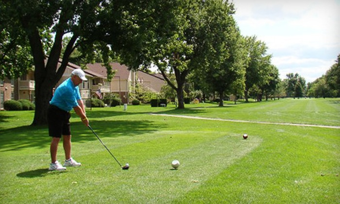 Canterbury Green Golf Course - Canterbury Green: $28 for a Golf Outing for Two with Cart Rental at Canterbury Green Golf Course (Up to $56 Value)