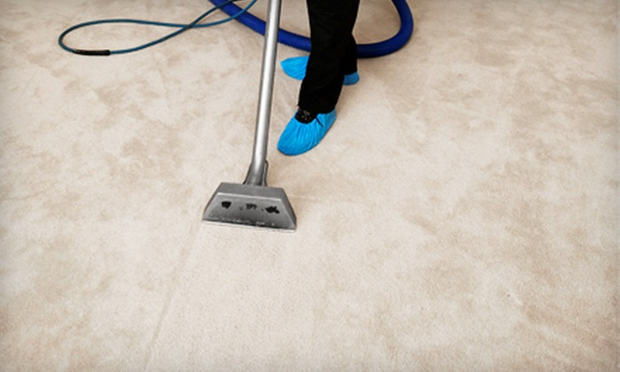 Discount Carpet Care - Multiple Locations: Carpet Cleaning for Two Rooms or Three Rooms and One Hallway from Discount Carpet Care (51% Off)