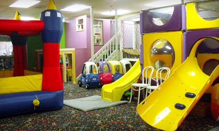 The Busy Genie - Etobicoke: Indoor-Playground Day Passes for 5 or 10 Visits to The Busy Genie in Etobicoke (Up to 57% Off)