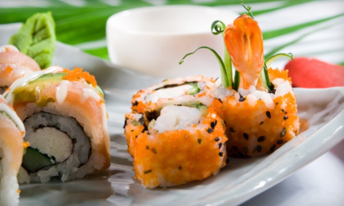 Triad Sushi Lounge - South Loop: $20 for $40 Worth of Sushi and Drinks at Triad Sushi Lounge