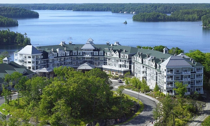 Palatial Ontario Resort Overlooking Lake Rosseau