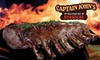 Captain John's Barbecue - Collierville: $7 for $15 Worth of Barbecue at Captain John's Barbecue