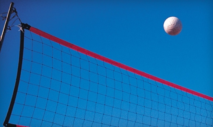 Fairlanes Family Entertainment Center - Grandville: $11 for One Hour of Volleyball with Soda, Nachos, and Popcorn at Fairlanes Family Entertainment Center in Grandville ($28.03 Value)
