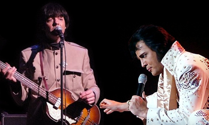 """""""Elvis Meets The Beatles"""" - Shubert Theatre: One Ticket to """"Elvis Meets The Beatles"""" Tribute Show at Shubert Theater in New Haven on January 20 (Up to $68.70 Value)"""