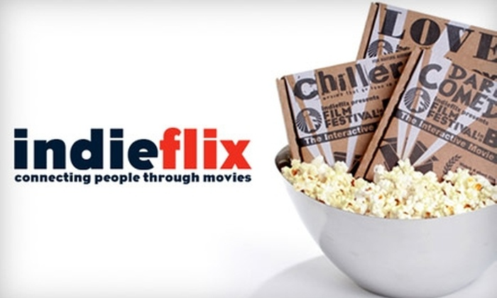 "IndieFlix: $65 for One Year of Unlimited Streaming, Plus Eight ""Film Festival in a Box"" Games from IndieFlix"
