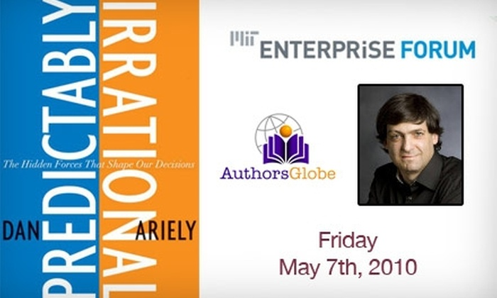 Author's Globe Inc. - Boston: $24 for MIT Interactive Virtual MasterClass about Irrationality on May 7