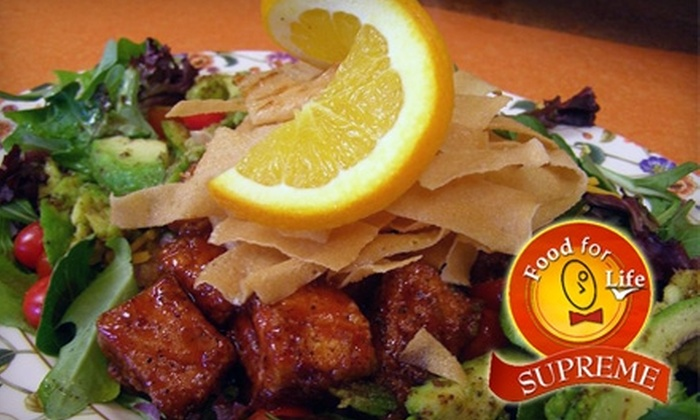 Food for Life Supreme - Burch Avenue: $7 for $15 Worth of Carryout Fare at Food for Life Supreme in Durham/ Chapel Hill