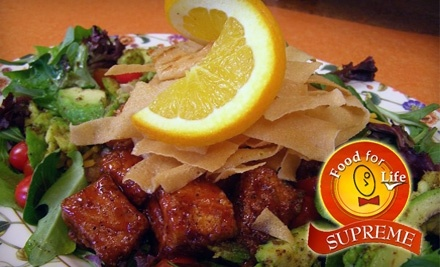 $15 Groupon to Food for Life Surpreme - Food for Life Supreme in Durham