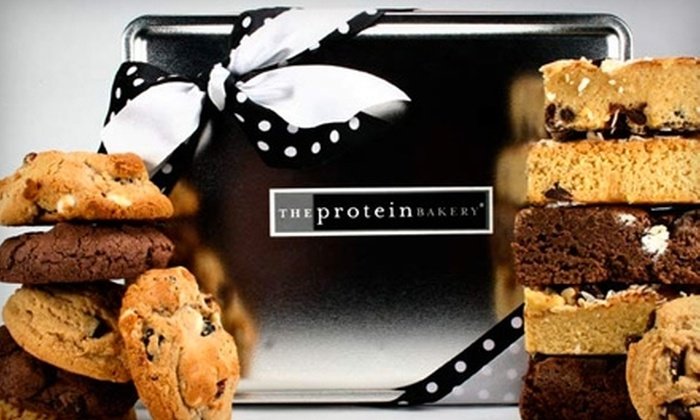 The Protein Bakery: $29 for Cookie and Brownie Assortment from The Protein Bakery ($59 Value)
