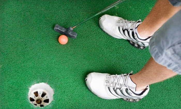 Golfland USA - Owensboro: $22 for One Four-Person Round of Miniature Golf, Eight Go-Kart Rides, and Four Beverages at Golfland USA ($52 Value)