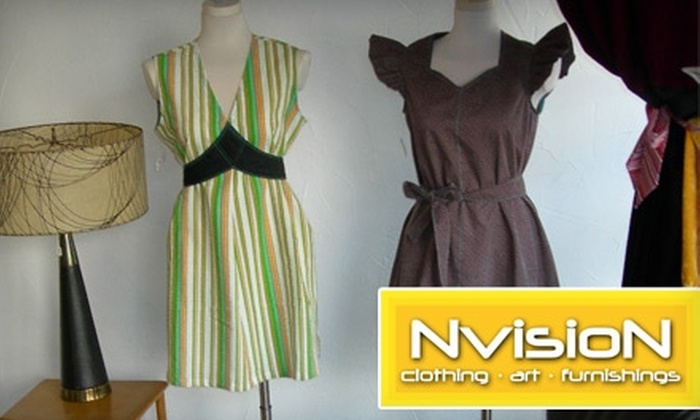 NVISION - Northside: $20 for $40 Worth of Clothing and Housewares at NVISION