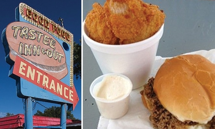 Tastee Inn & Out - University Place: $5 for $10 Worth of Old-Fashioned Fare and Drinks at Tastee Inn & Out