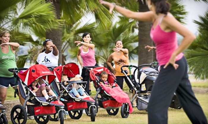 Stroller Strides  - Multiple Locations: One- or Two-Month Membership Including Unlimited Classes and Resistance Bands at Stroller Strides (Up to 52% Off)