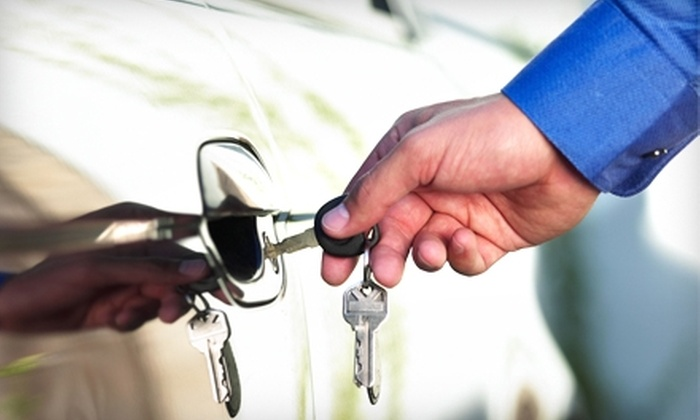 Pop-A-Lock - Civic Center: $30 for $60 Toward a Transponder, High-Security Key, or Car-Door Unlocking at Pop-A-Lock