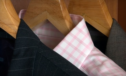 $40 Groupon to Valet Dry Cleaning To Your Door - Valet Dry Cleaning To Your Door in