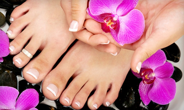 Mani Q Spa - Haverhill: Nail and Spa Services at Mani Q Spa (Up to 54% Off). Four Options Available.