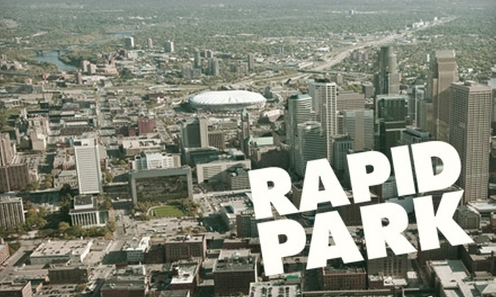 Rapid Park - North Loop: $25 for One Month of Parking at Rapid Park ($85 Value)