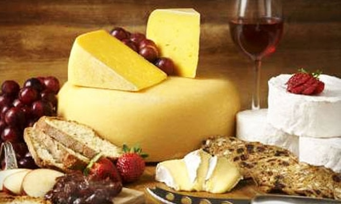Upper Canada Cheese Company - Jordan Station: $10 for $20 Worth of Gourmet Cheese and More at Upper Canada Cheese Company